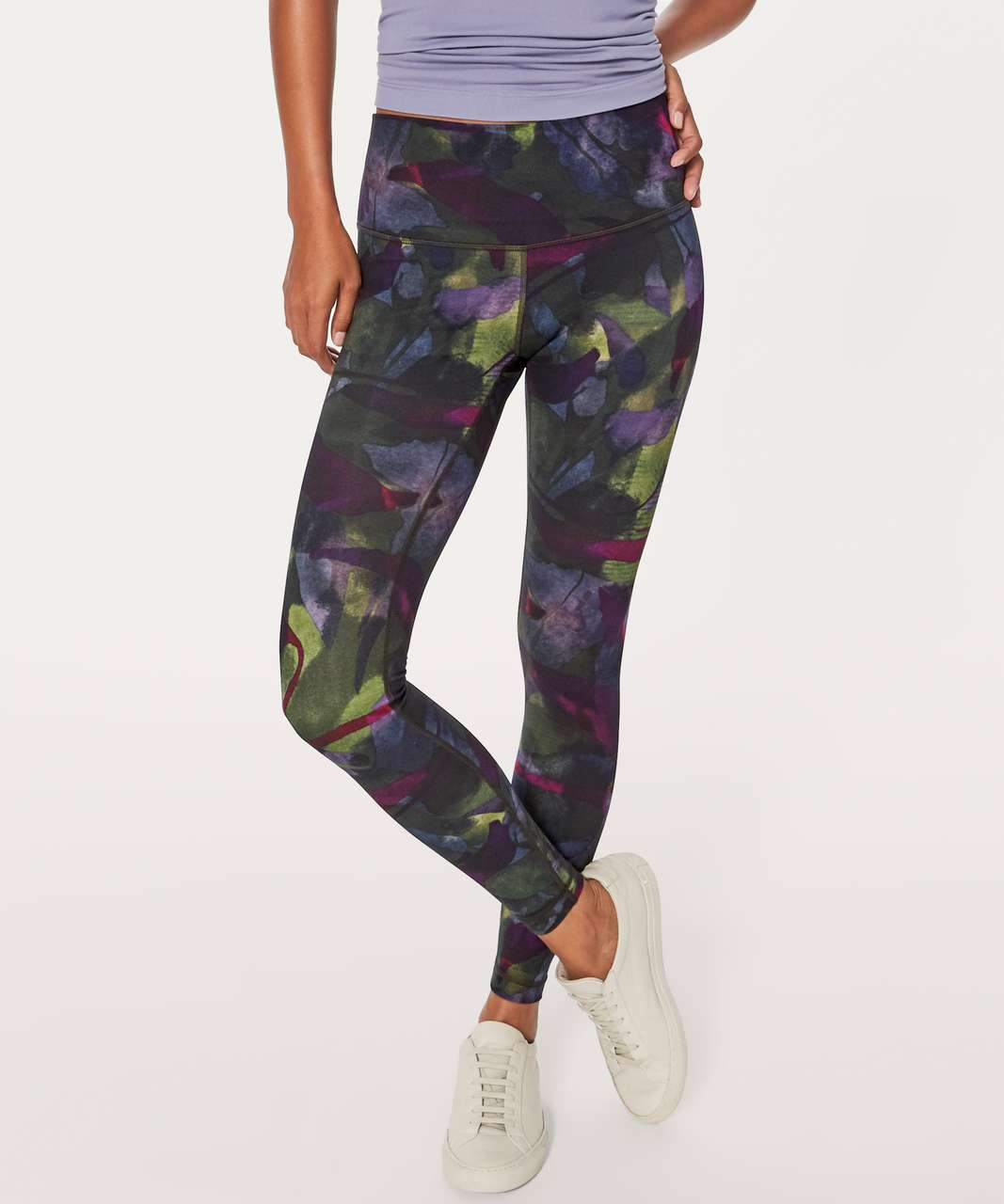"Lululemon Wunder Under Hi-Rise Tight (Full-On Luxtreme 28"") - Aura Dark Chrome Multi"