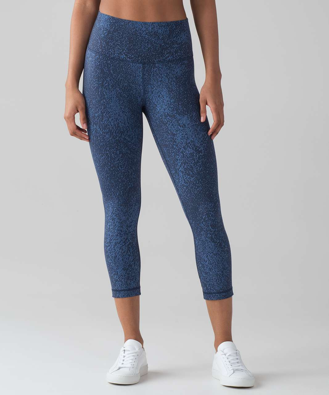 Lululemon Wunder Under Crop (Hi-Rise) (Luxtreme) - Power Luxtreme Mineral Deposit Lunar Eclipse Royal