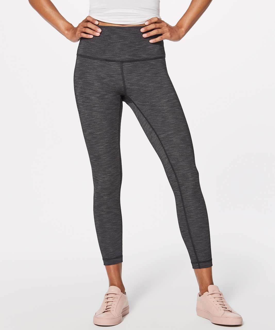 66ec3cf4c6 Lululemon Wunder Under Hi-Rise 7/8 Tight (Brushed Full-On Luxtreme ...