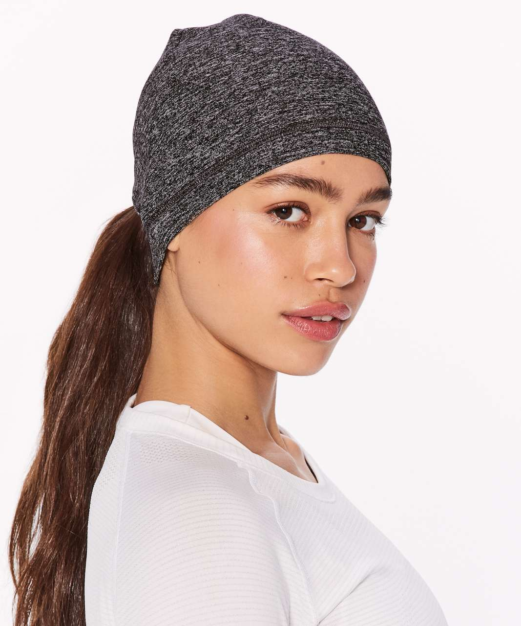 24582fed05d8e Lululemon Run It Out Toque (Special Edition) - Reconnect Heathered Black  Silver Reflective
