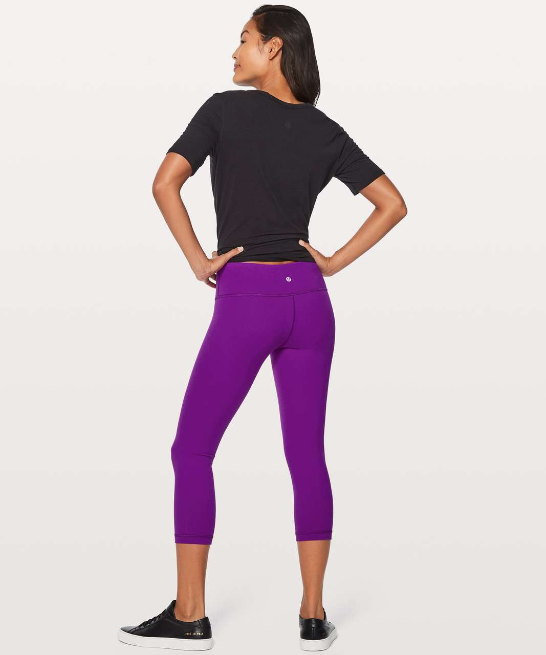"Lululemon Wunder Under Crop III (Full-On Luon 21"") - Tender Violet"