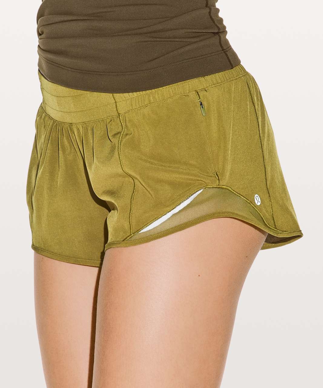 "Lululemon Hotty Hot Short II (2.5"") - Meadow"