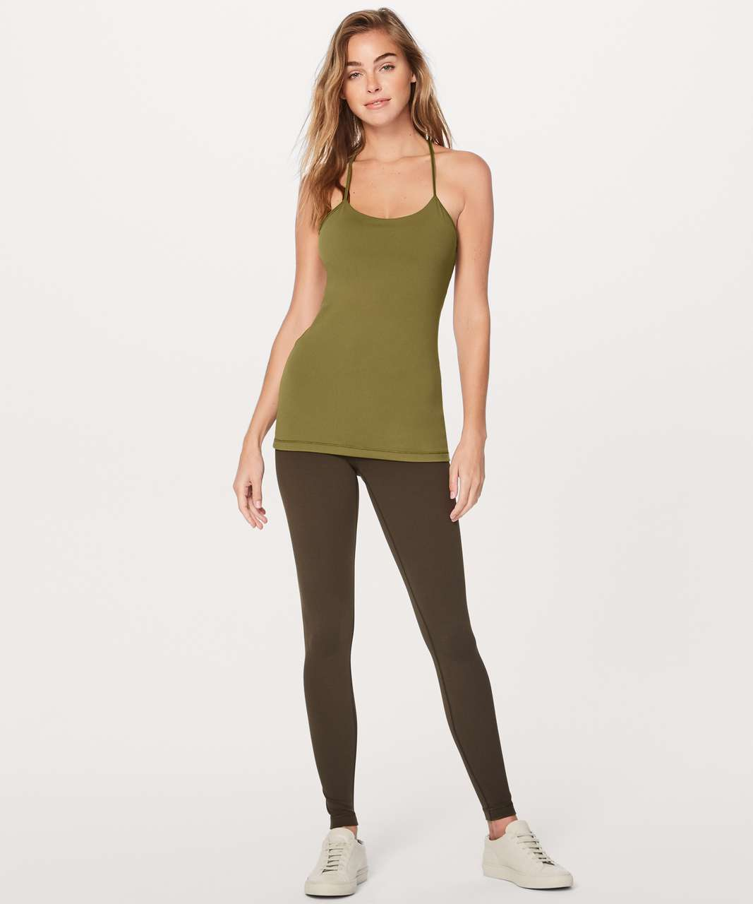Lululemon Power Pose Tank *Light Support For A/B Cup - Meadow