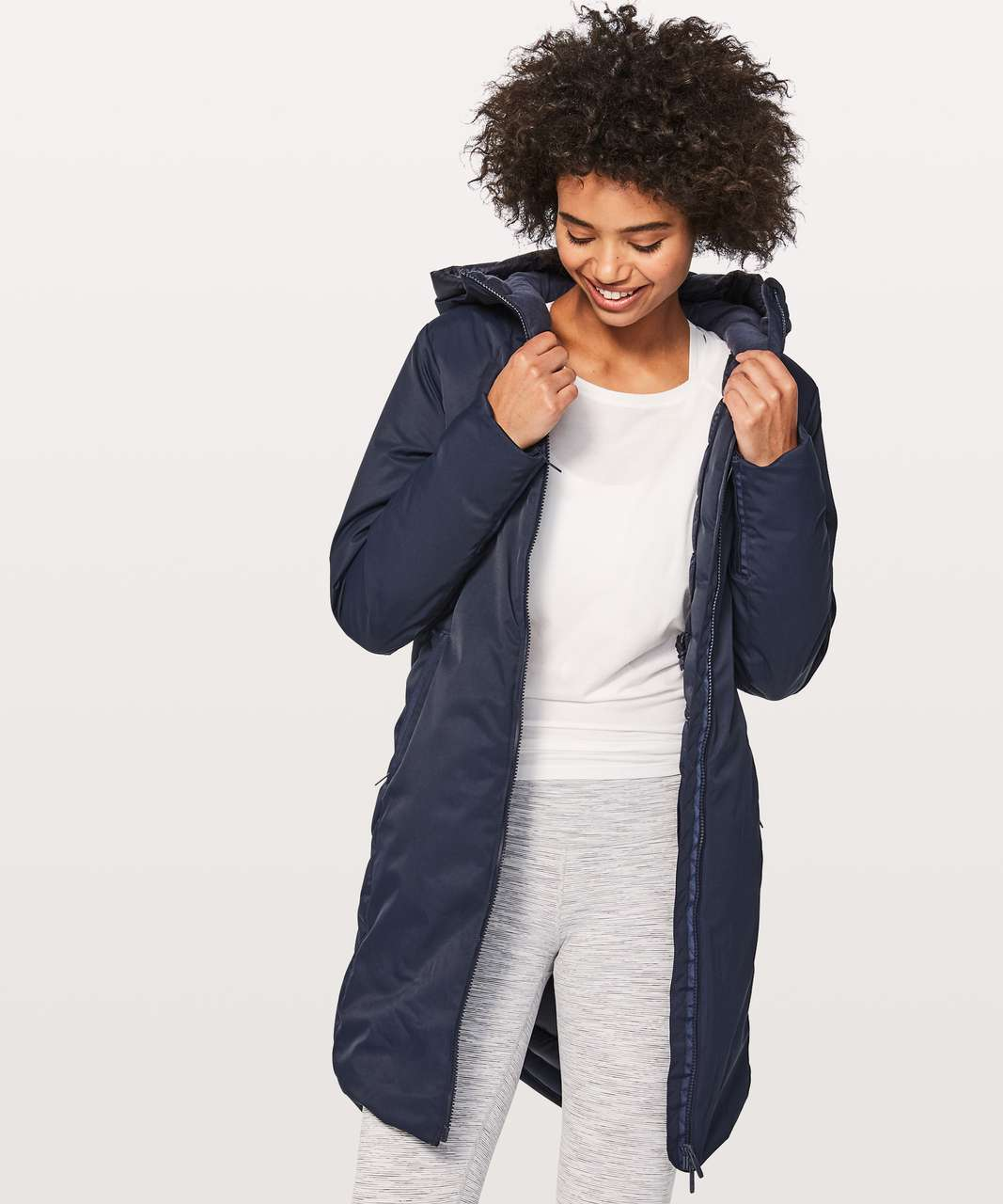 Lululemon Fluff The Cold Parka - Inkwell