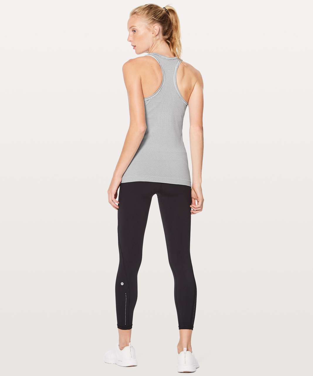 Lululemon Swiftly Tech Racerback - White / White / Black (First Release)