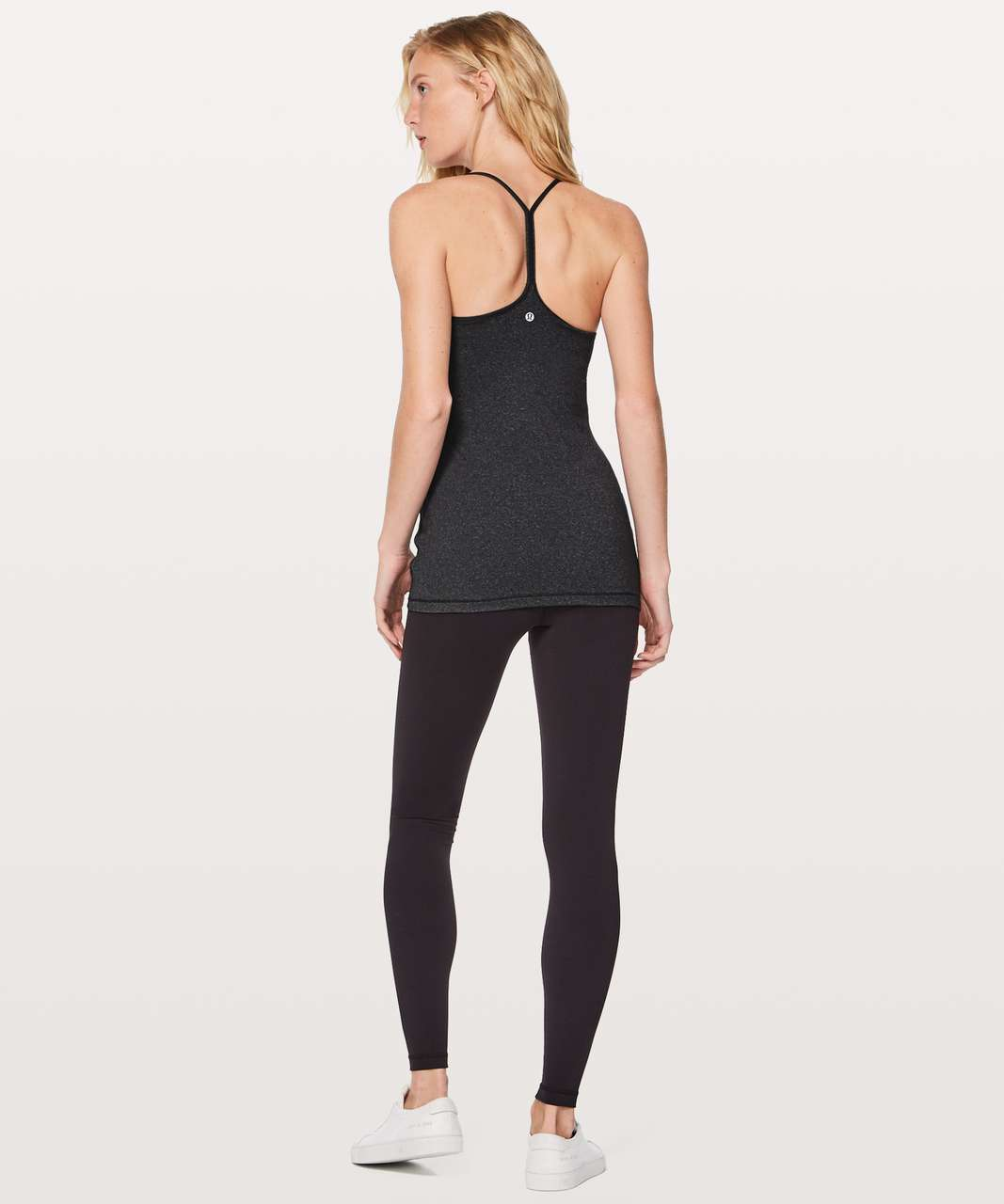 Lululemon Power Pose Tank *Light Support For A/B Cup - Heathered Black