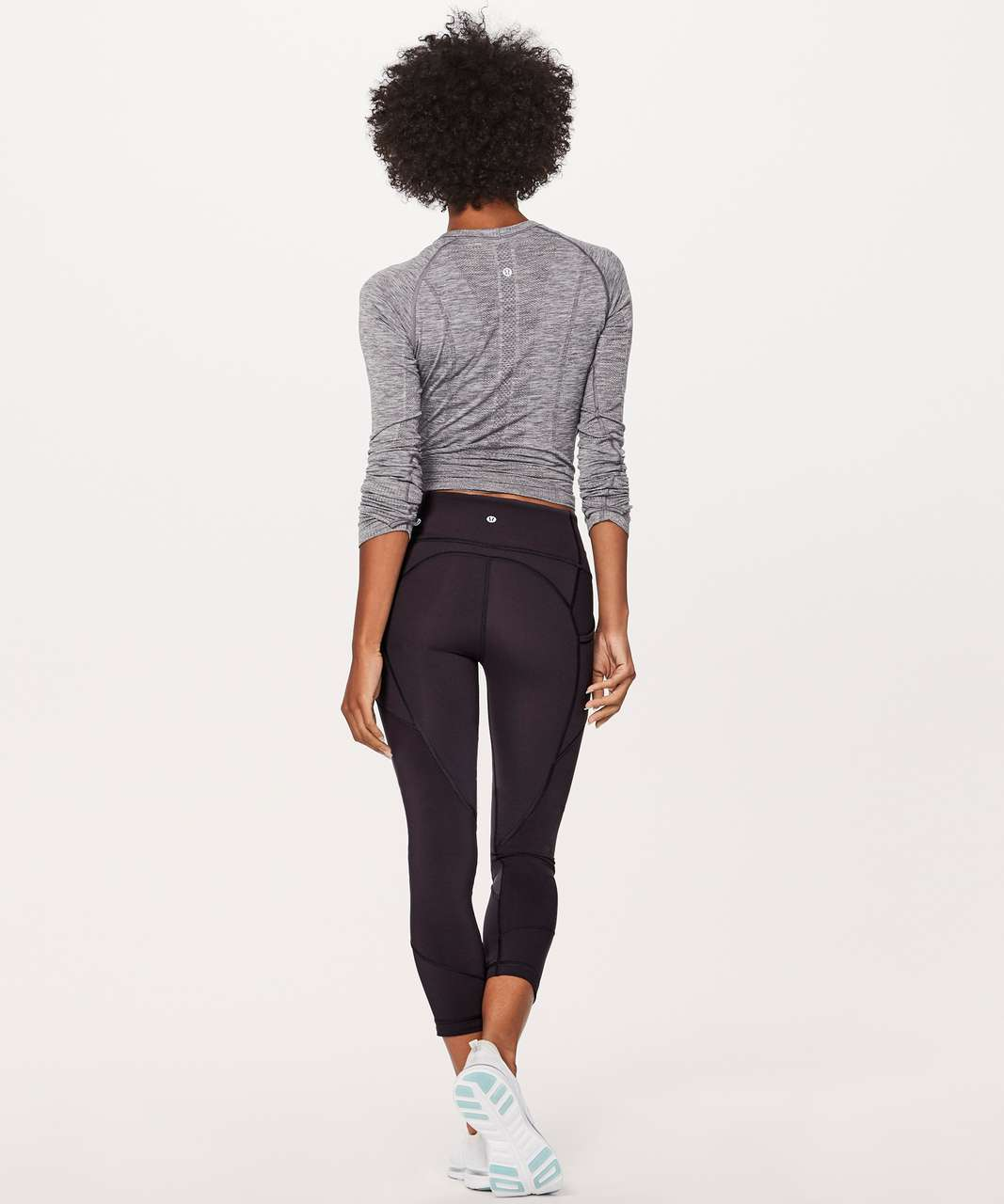"""Lululemon All The Right Places Crop II *23"""" - Boysenberry"""