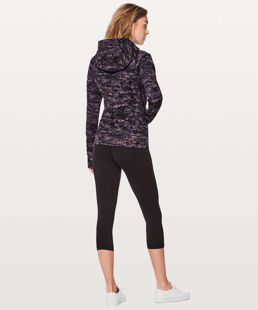 Lululemon Scuba Hoodie IV - Rip Wave Purple Thunder Black