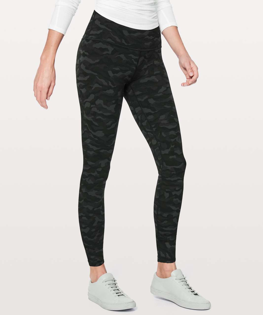 "Lululemon Align Pant *Full Length 28"" - Sequoia Camo Print Deep Coal Black"
