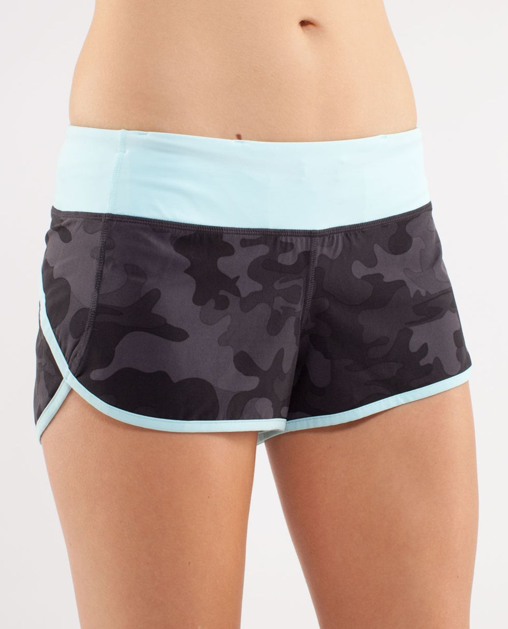 Lululemon Run:  Speed Short - Lalo / Soot / Aqam
