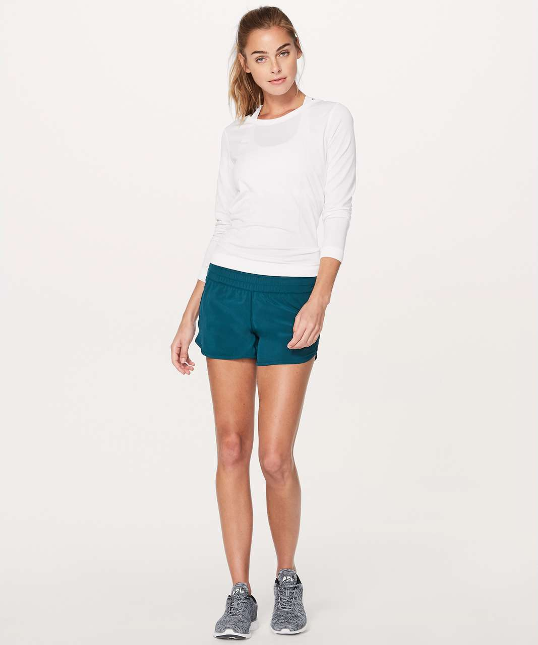 "Lululemon Tracker Short V *4"" - Nile Blue"