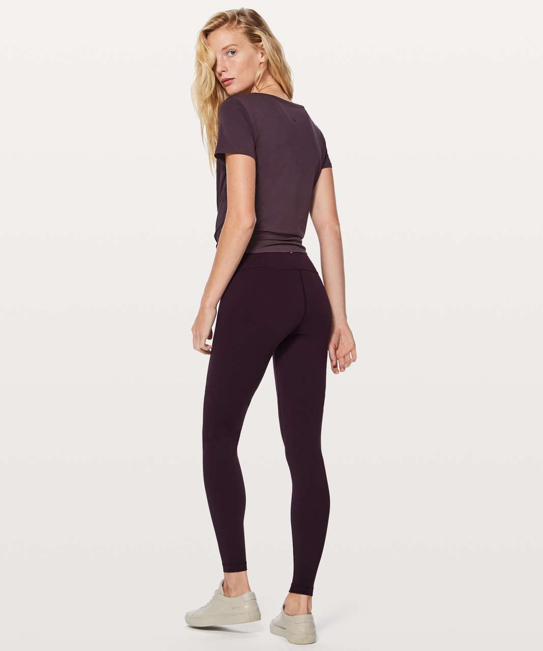 Lululemon Wunder Under Hi-Rise Tight (Tall) Full-On Luon Black Cherry