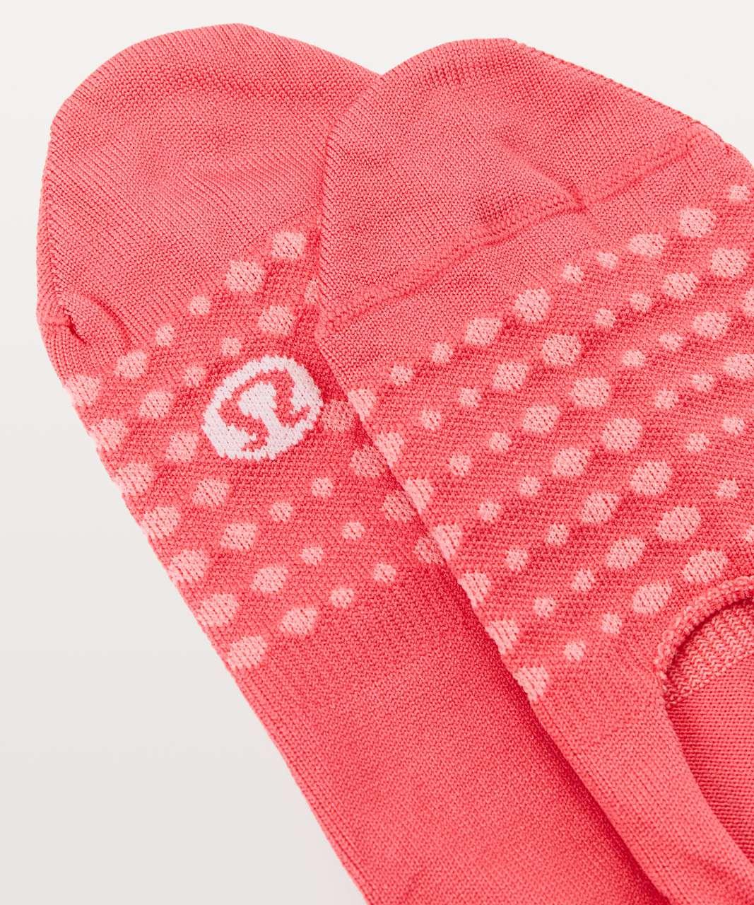Lululemon Secret Sock - Coralize / Strawberry Shock