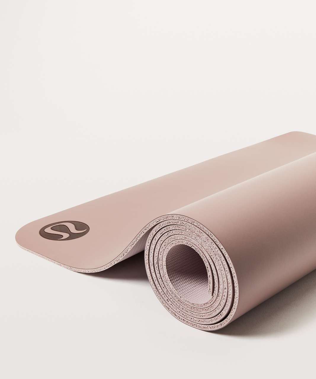 Lululemon The Reversible Mat 5mm - Misty Mauve / Porcelain Pink (First Release)