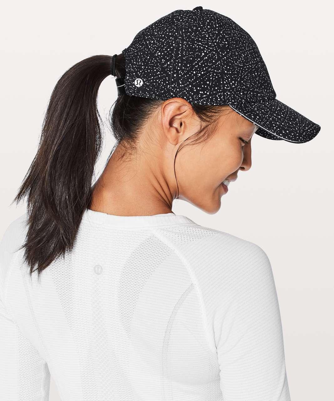 ce5d45fe Lululemon Baller Hat Run - Night View White Black / Black - lulu fanatics