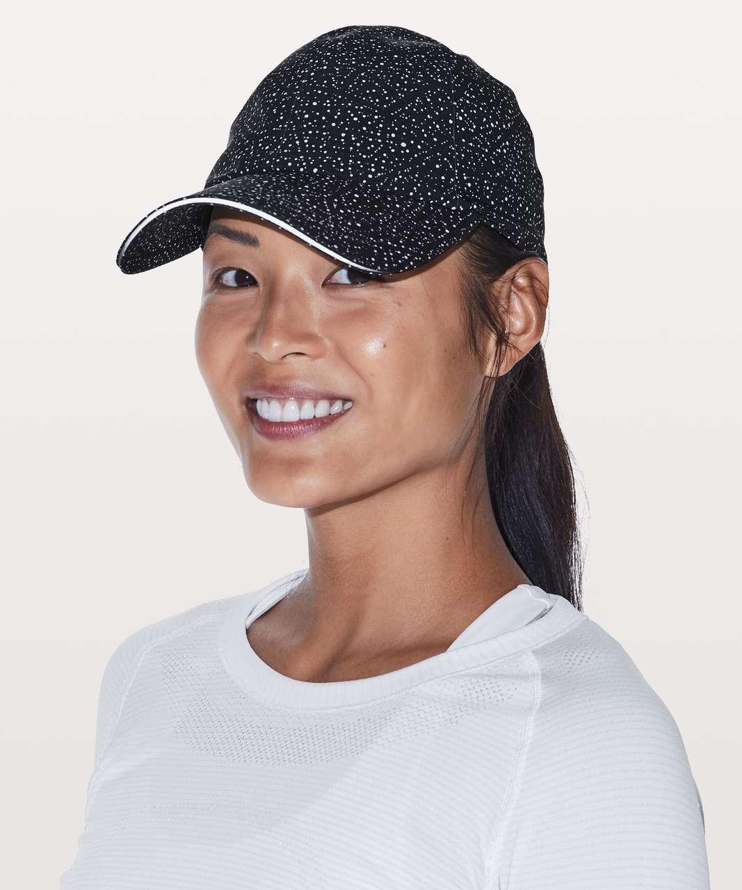 Lululemon Baller Hat Run - Night View White Black / Black