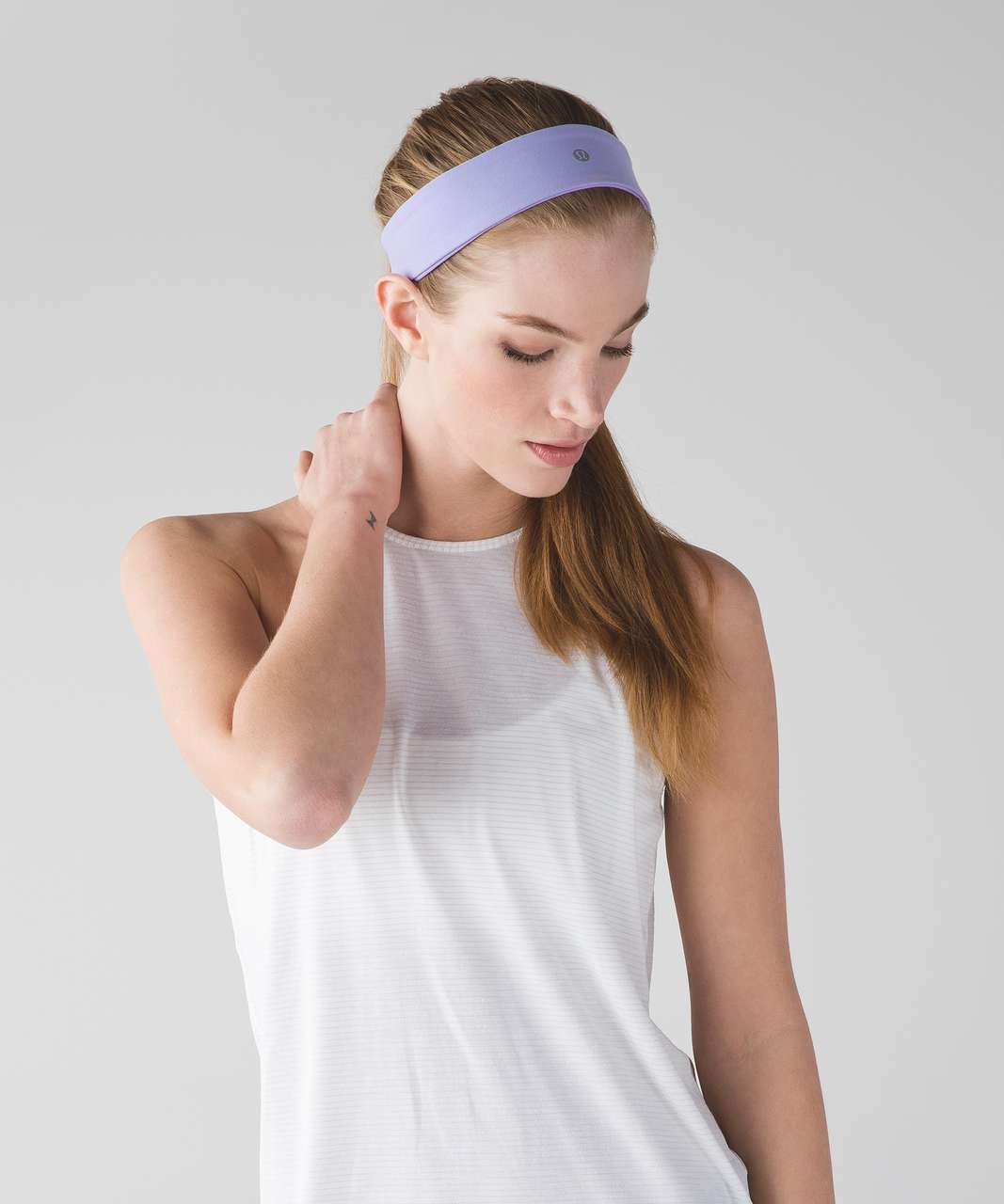 Lululemon Fly Away Tamer Headband II - Lilac