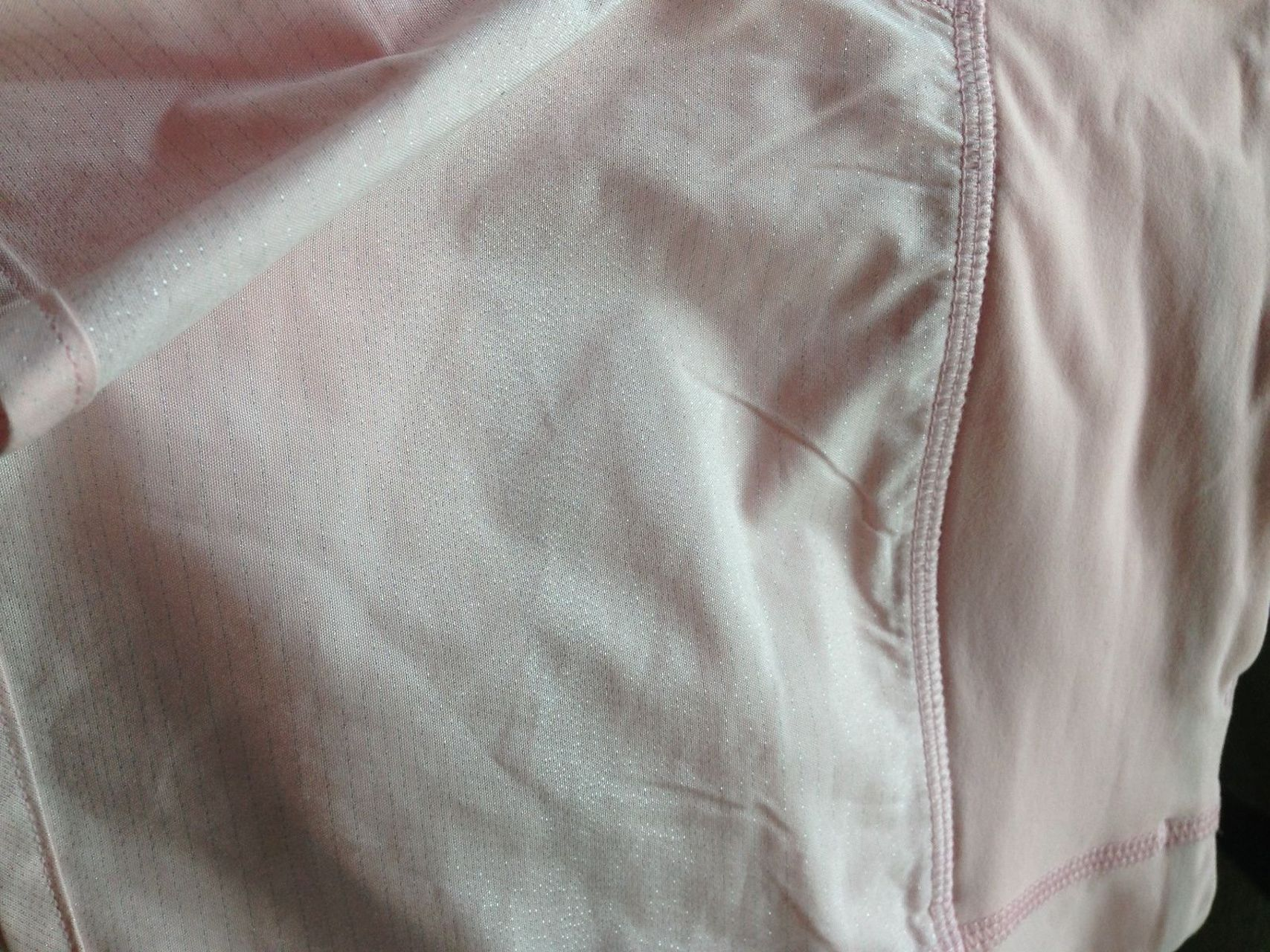 Lululemon Run:  Speed Short *2-way Stretch - Sparkle Swift Heathered Silver Spoon Neutral Blush / Neutral Blush