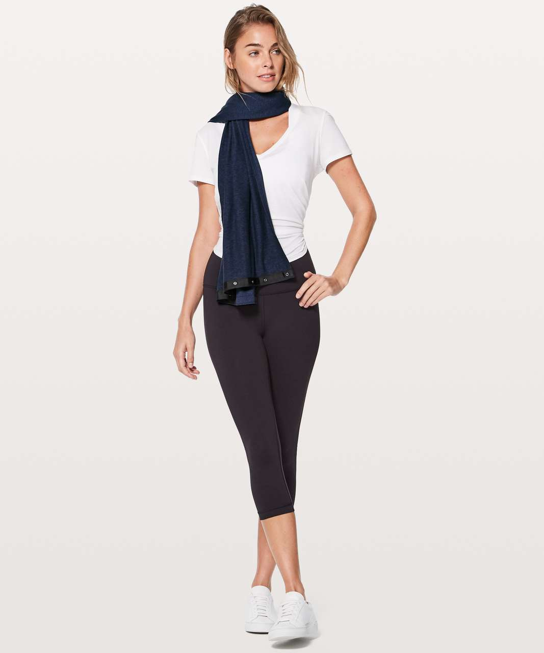 Lululemon Vinyasa Scarf *Rulu - Heathered Hero Blue