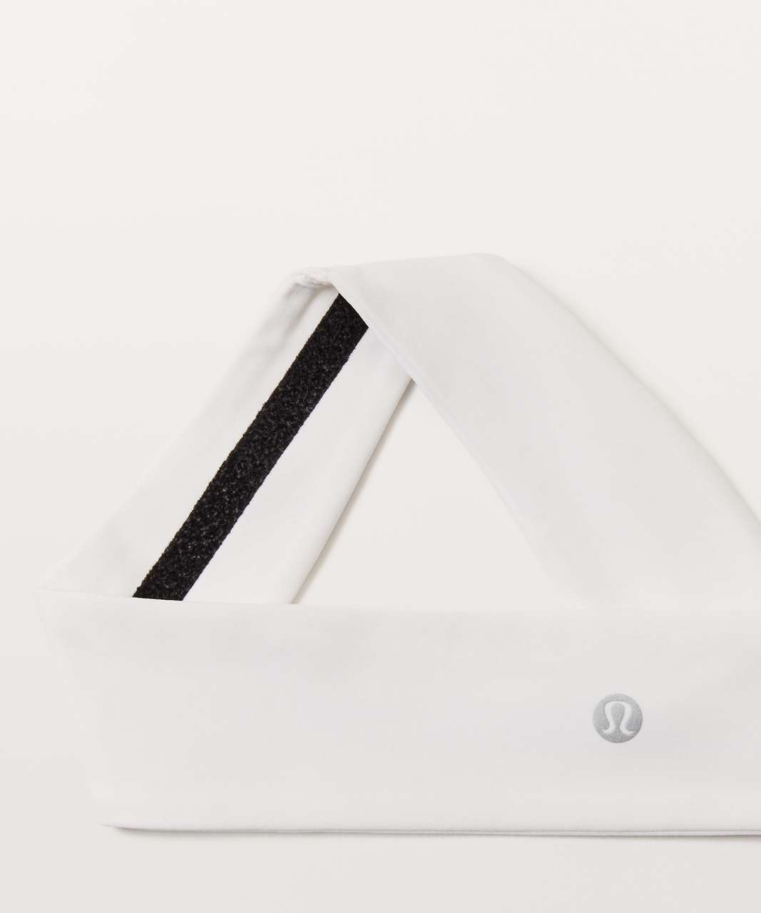 Lululemon Fly Away Tamer Headband II *Luxtreme - White