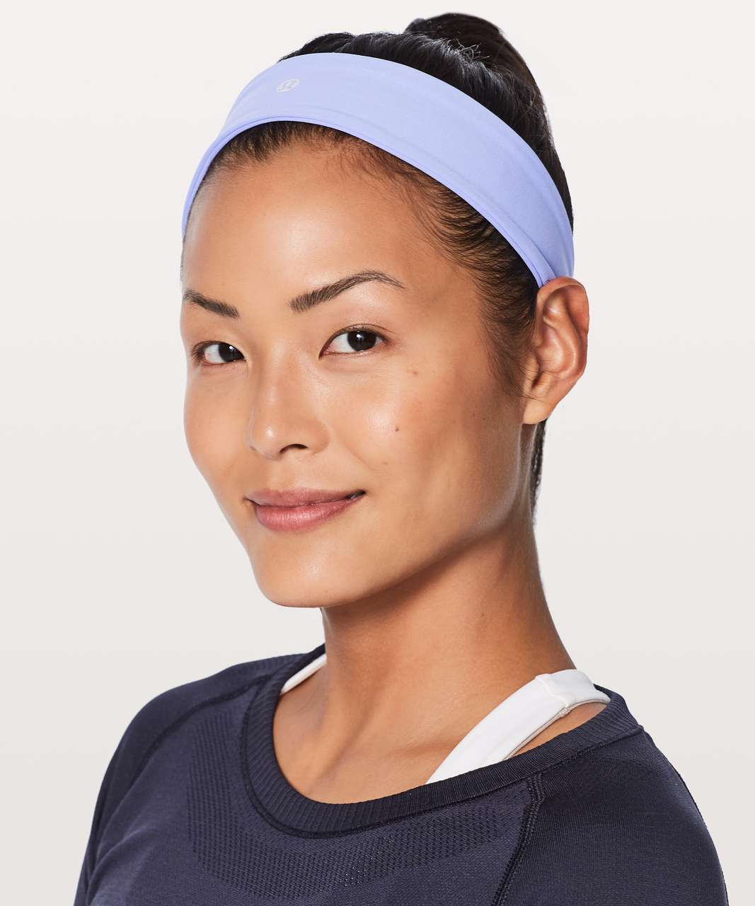 Lululemon Fly Away Tamer Headband II *Luxtreme - Hydrangea Blue