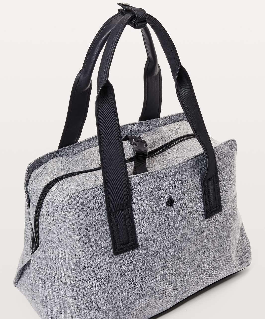 Lululemon Go Getter Bag Heatproof Pocket 26l Heathered Black