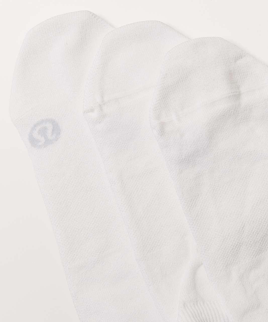 Lululemon Play All Day Sock 3 Pack - White