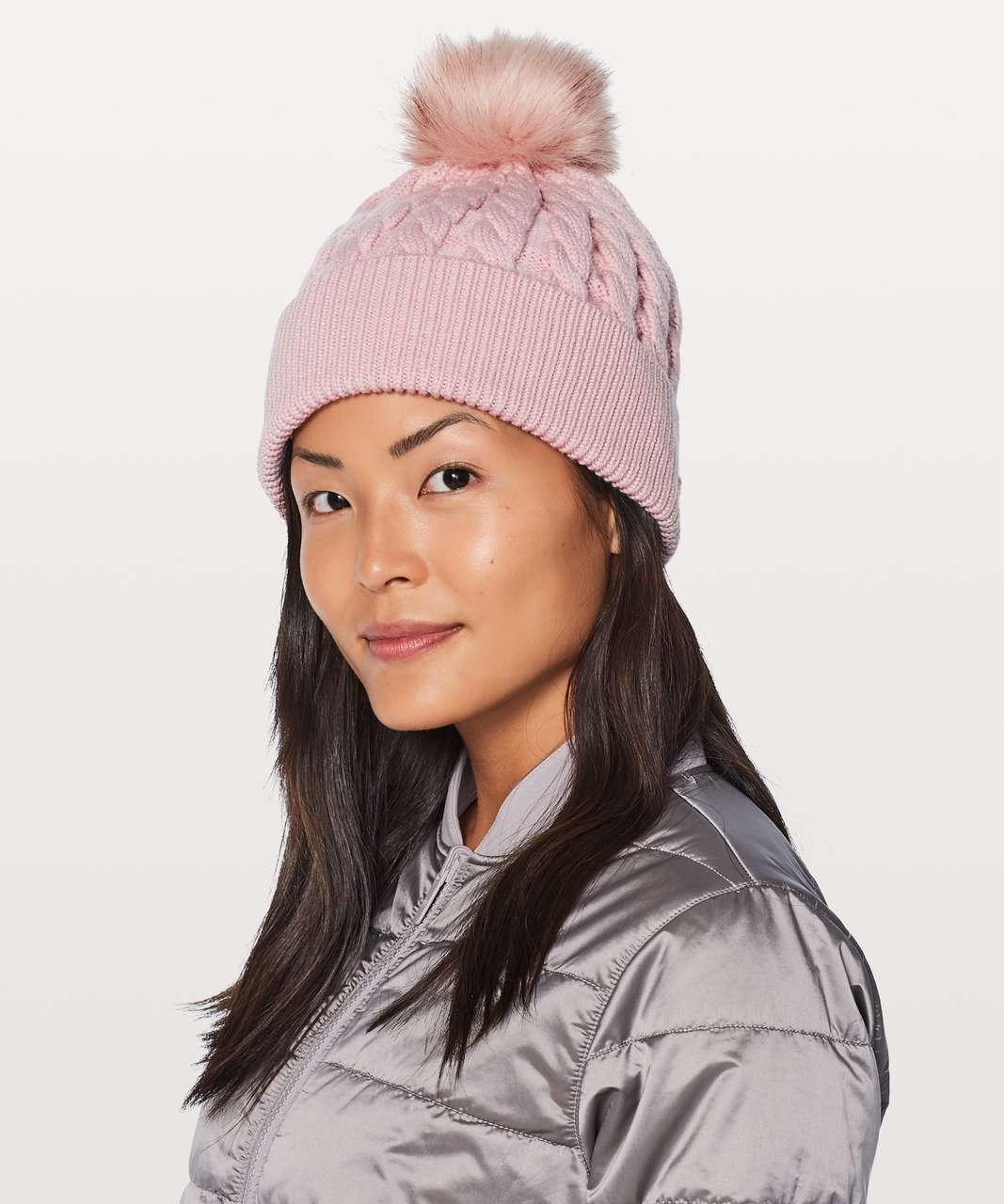 a6237b2c463 Lululemon Wool Be Toasty Toque - Misty Pink - lulu fanatics