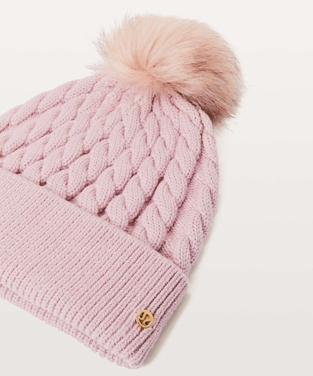 Lululemon Wool Be Toasty Toque - Misty Pink - lulu fanatics b4375d4c1bd