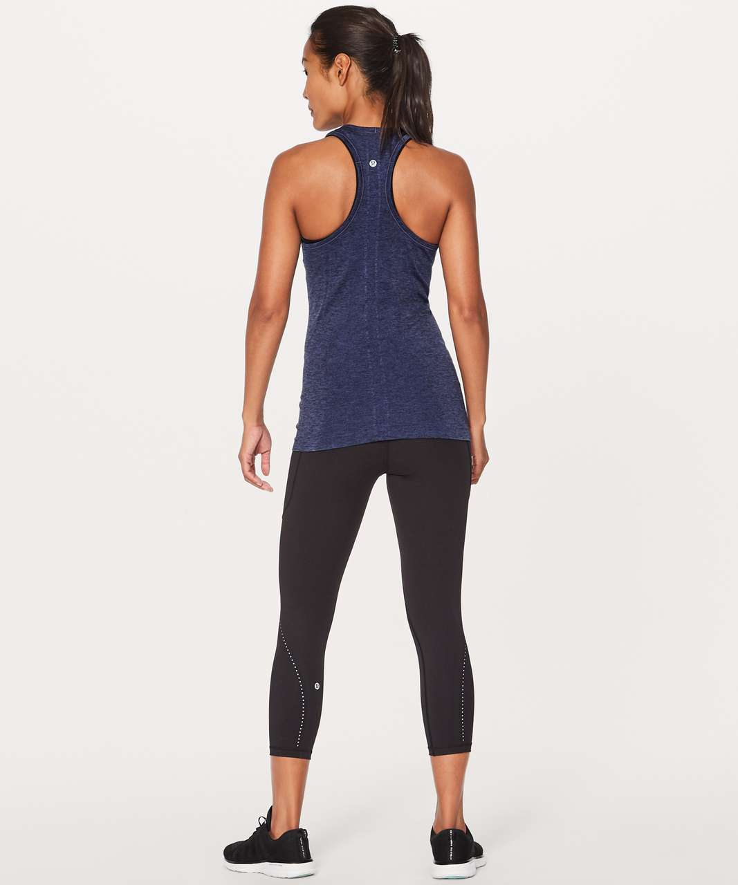 Lululemon Swiftly Tech Racerback - Stony Grape / Black