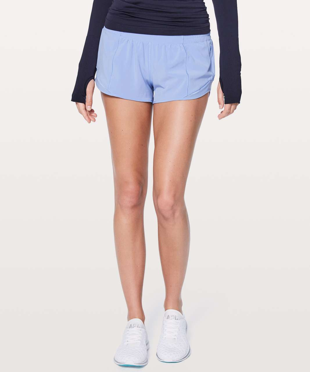 "Lululemon Hotty Hot Short II *2.5"" - Hydrangea Blue"