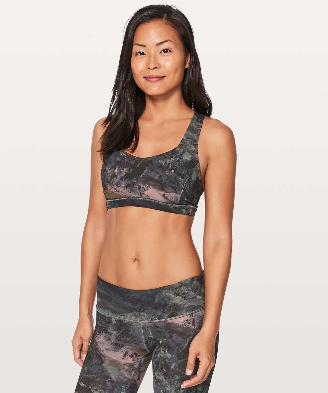 Lululemon Free To Be Serene Bra - Radiant Multi