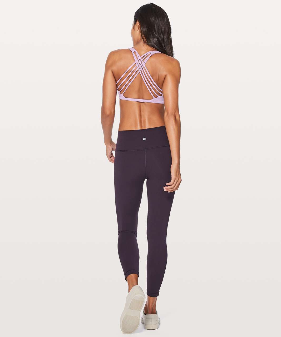 Lululemon Free To Be Bra (Wild) - Lilac Quartz
