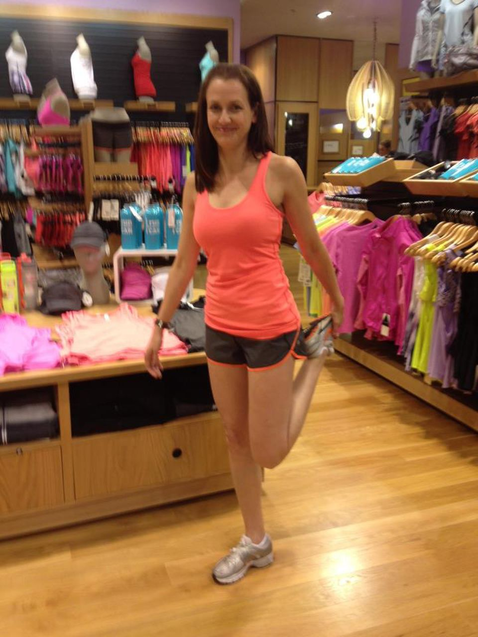 Lululemon Speed Short - Cashew Tonka Stripe Flare