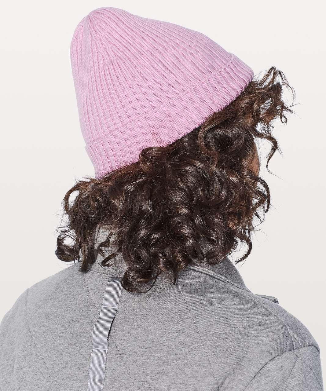 Lululemon Wool Be Cozy Toque - Rose Quartz