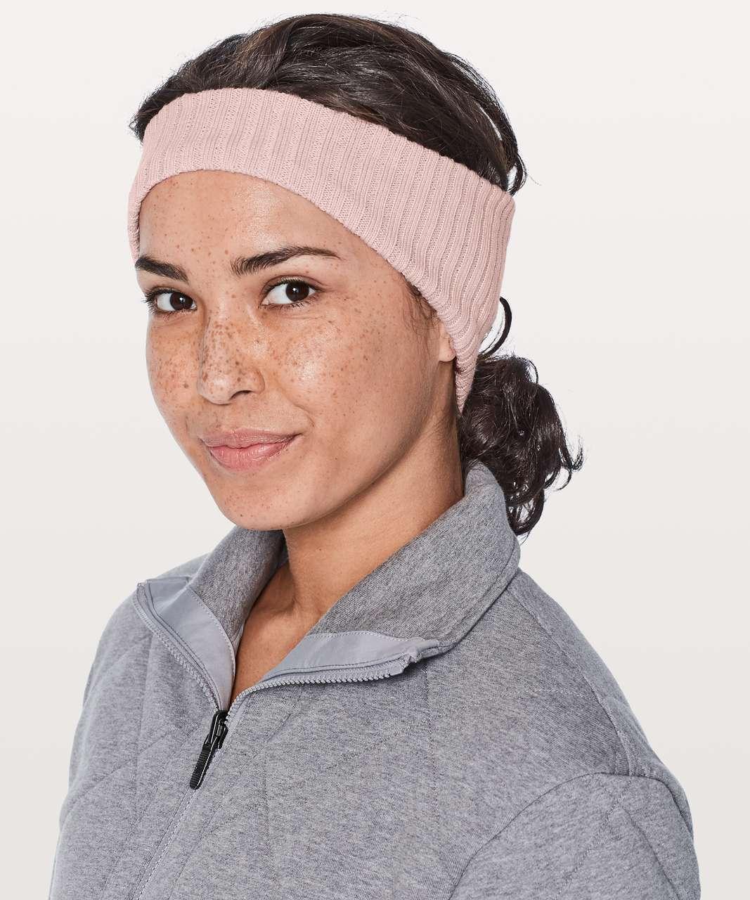 94b963dcd93 Lululemon Wool Be Cozy Ear Warmer - Misty Pink - lulu fanatics