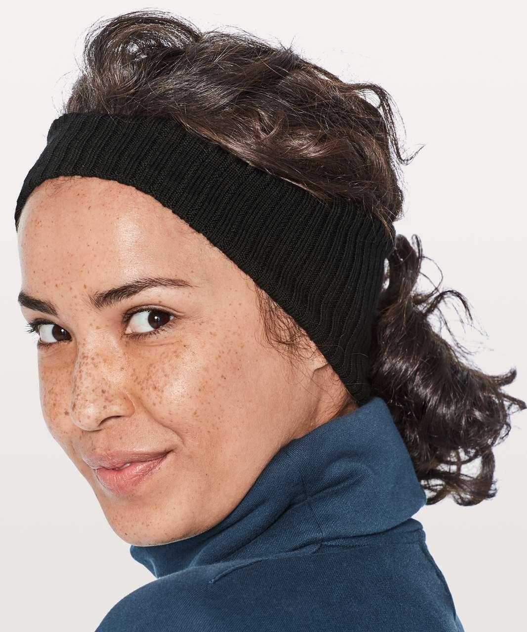 d248c656d28 Lululemon Wool Be Cozy Ear Warmer - Black - lulu fanatics