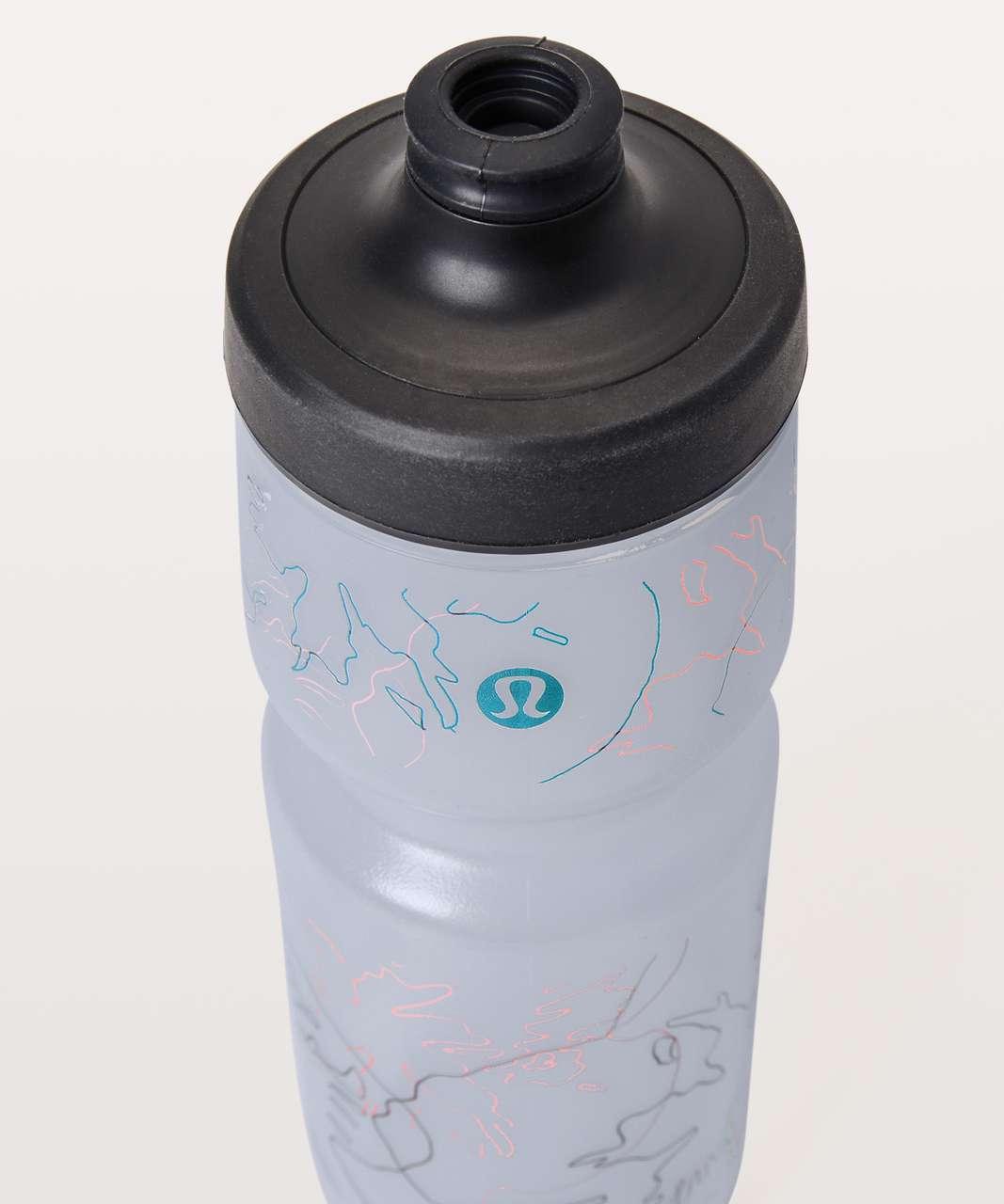 Lululemon Purist Cycling Water Bottle - Faint Floral