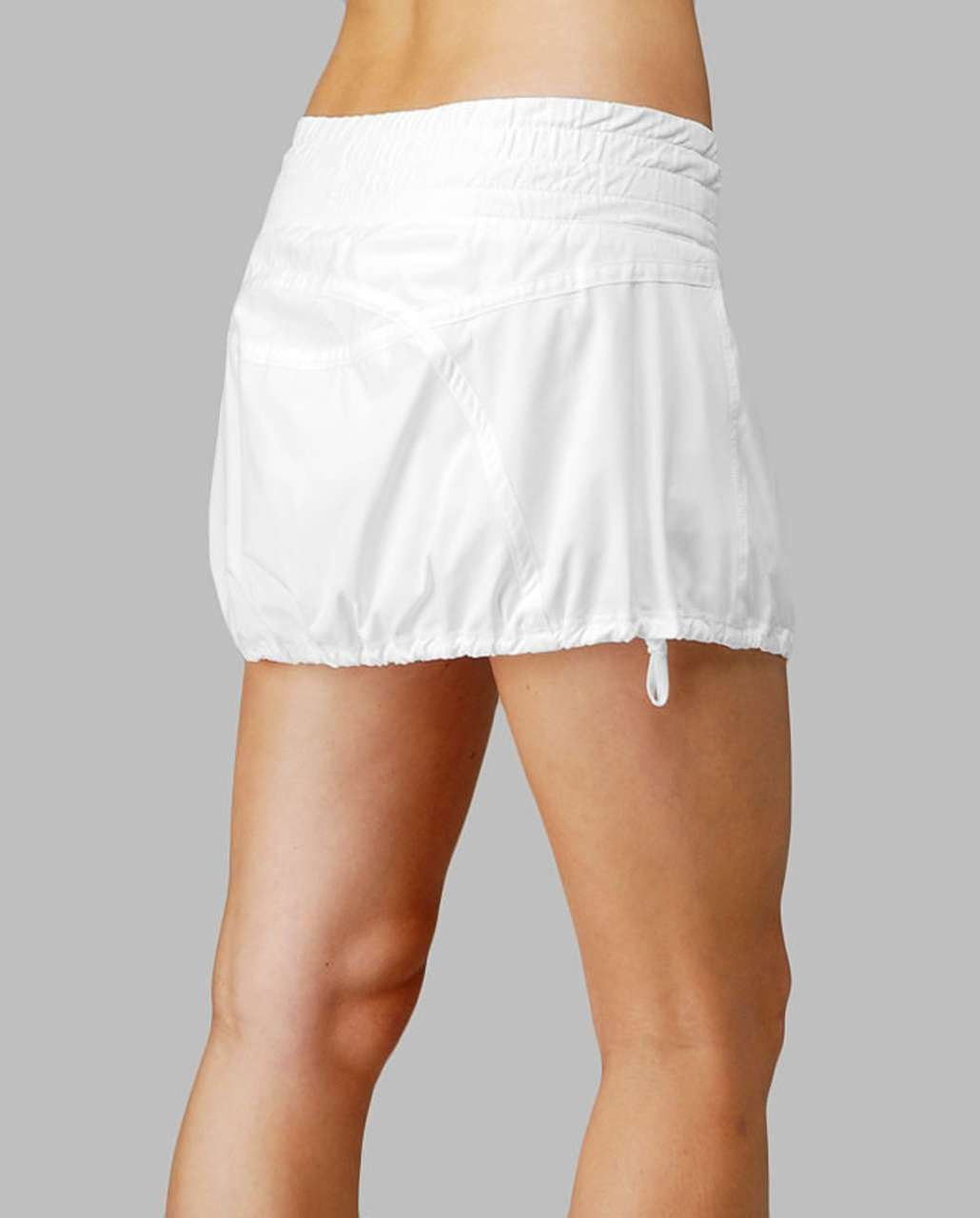 2dcd451bea Lululemon Run Tracker Skirt - White - lulu fanatics