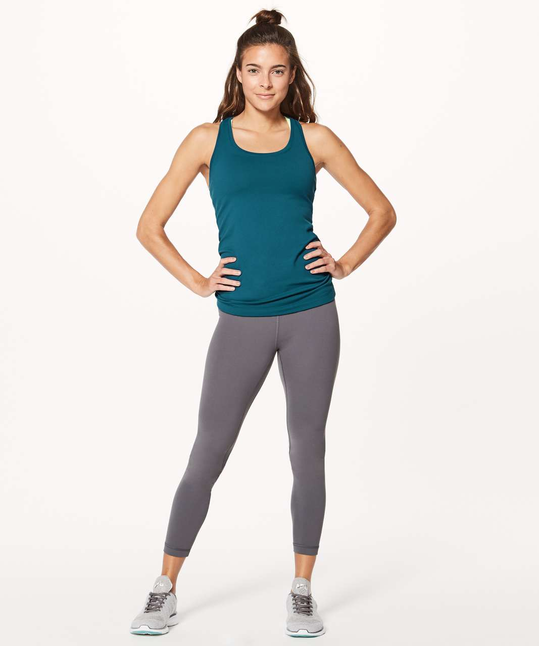 Lululemon Cool Racerback II - Nile Blue