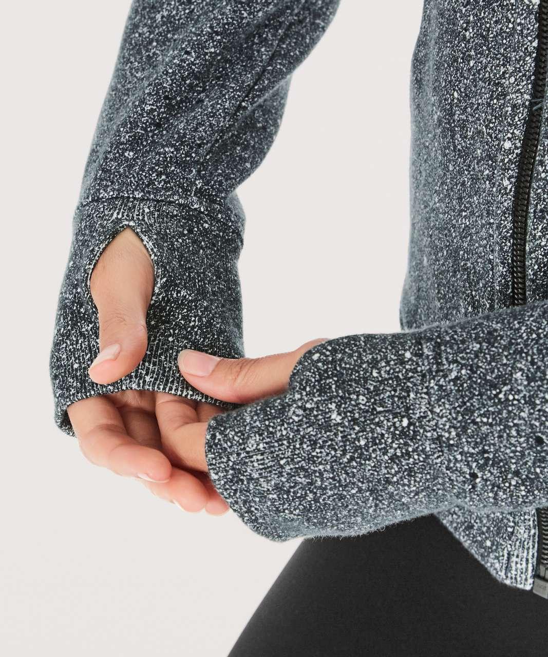 Lululemon Scuba Hoodie *Light Cotton Fleece - Luminesce Splatter White Black (First Release)