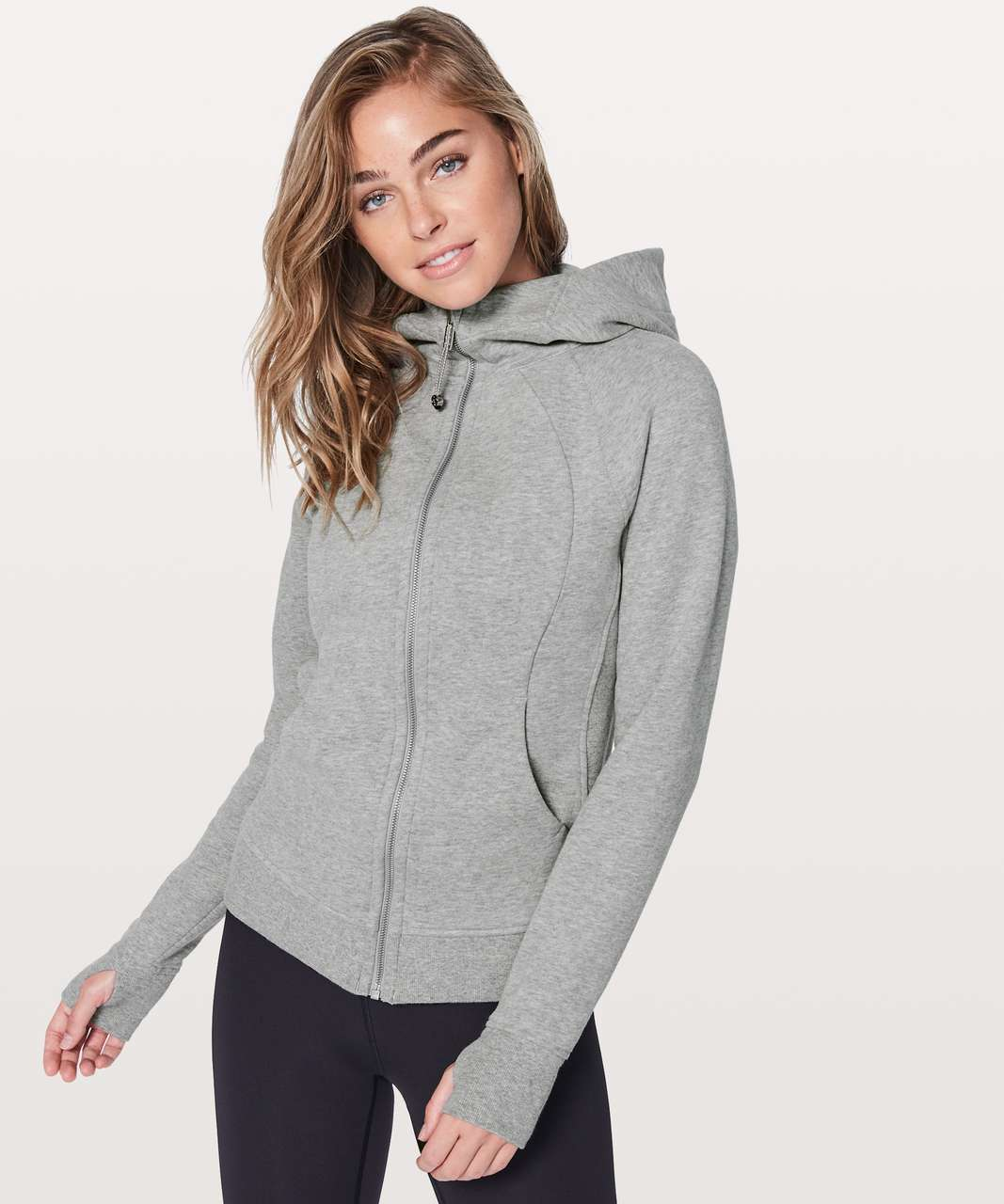 Lululemon Scuba Hoodie *Light Cotton Fleece - Heathered Core Light Grey / Silver Drop (First Release)