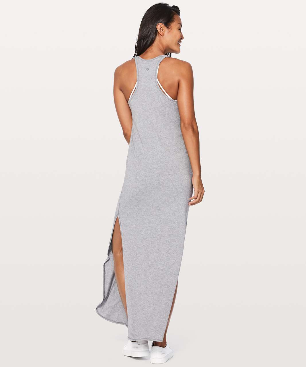 bdf5eb80e7d Lululemon Refresh Maxi Dress II - Heathered Medium Grey - lulu fanatics
