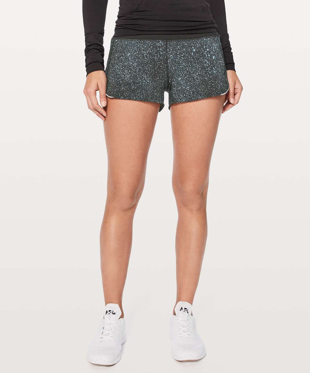 Lululemon Speed Up Short Hi-Rise Reflective 2.5