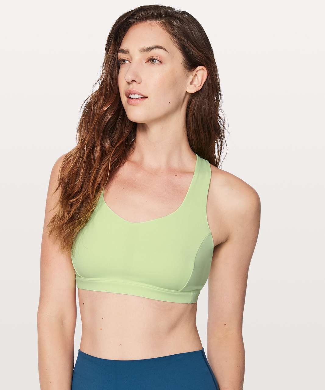 Lululemon Free To Be Serene Bra - Clear Mint