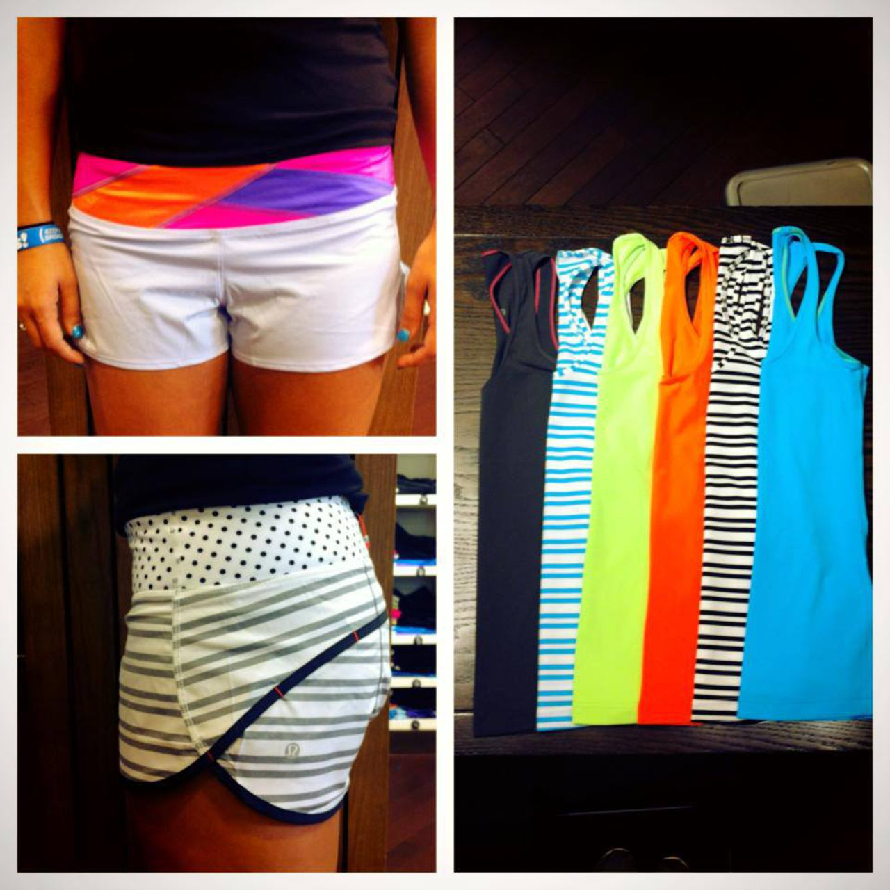 Lululemon Run:  Speed Short - Cool Breeze / Quilt Summer13 3