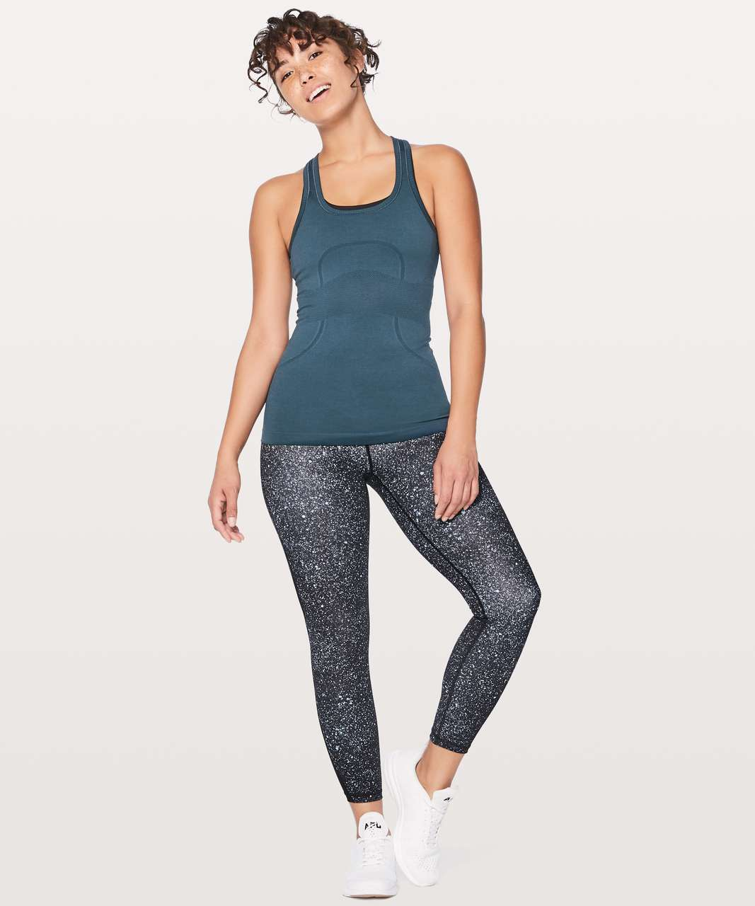 Lululemon Swiftly Tech Racerback - Mineral Blue / Mineral Blue