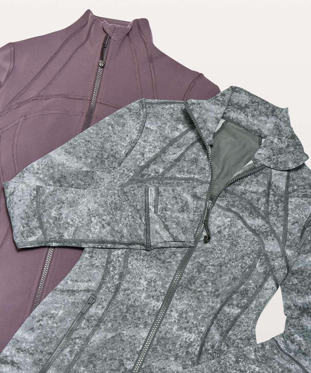 Lululemon Define Jacket - Area Ice Grey