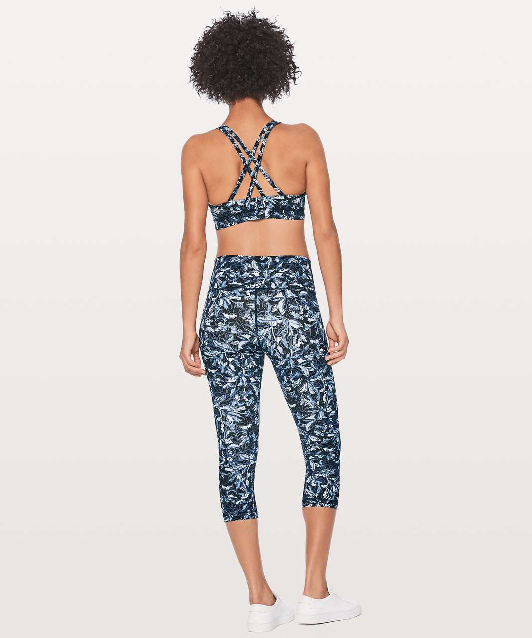 "Lululemon Wunder Under Crop (Hi-Rise) 21"" - Embellished Multi"