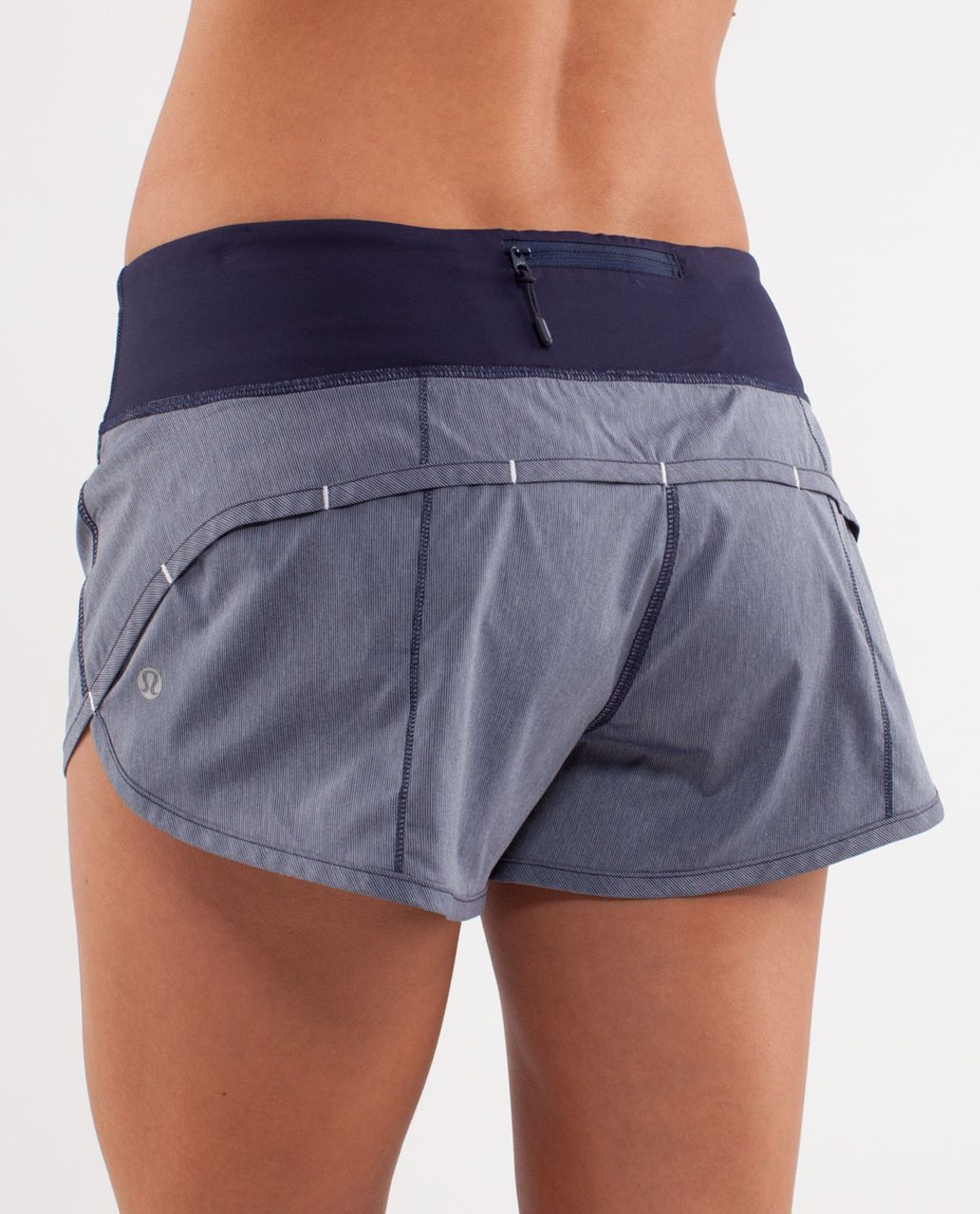 Lululemon Run:  Speed Short - Deep Indigo